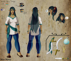Monifa Character Ref