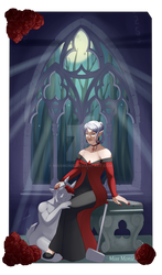 Lady in Red by MissMonie