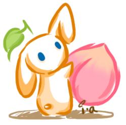 Kawaii Bunny icon by Meikiyu