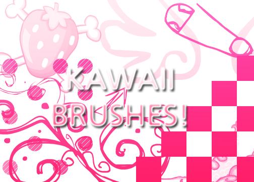 Kawaii Brush by Meikiyu
