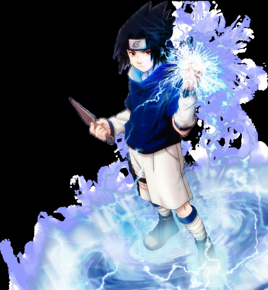 Sasuke Chidori Render By Meikiyu On DeviantArt