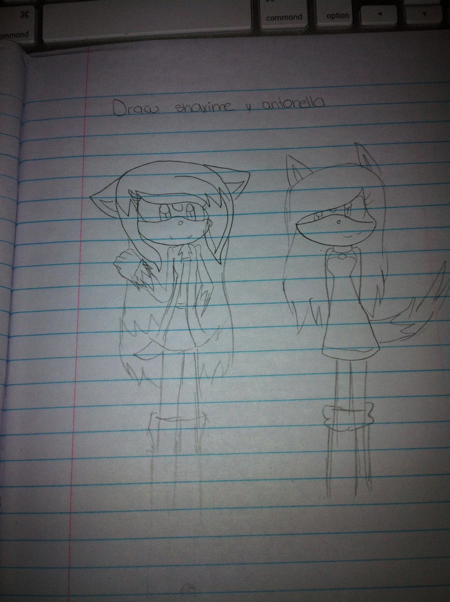 draw shaxime y antonella by shaxime2soxime