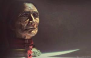 Geronimo Bust by Iith