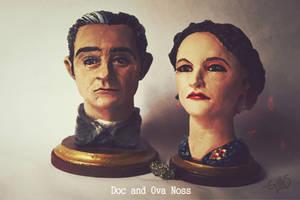 Doc and Ova Noss - Victoro Peak by Iith
