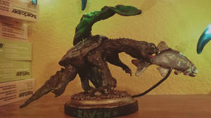 Snapping Turtle Sculpture by Iith