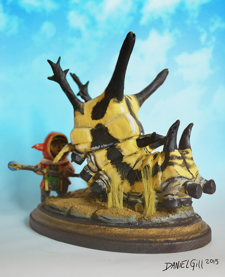 FFXI Taru Crawler Battle