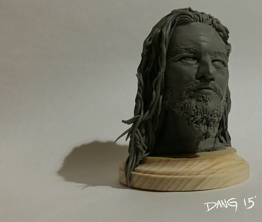Dimebag Darrell Sculpture