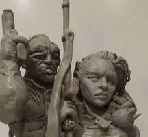 Monster Hunters International Sculpture - WIP 2 by Iith