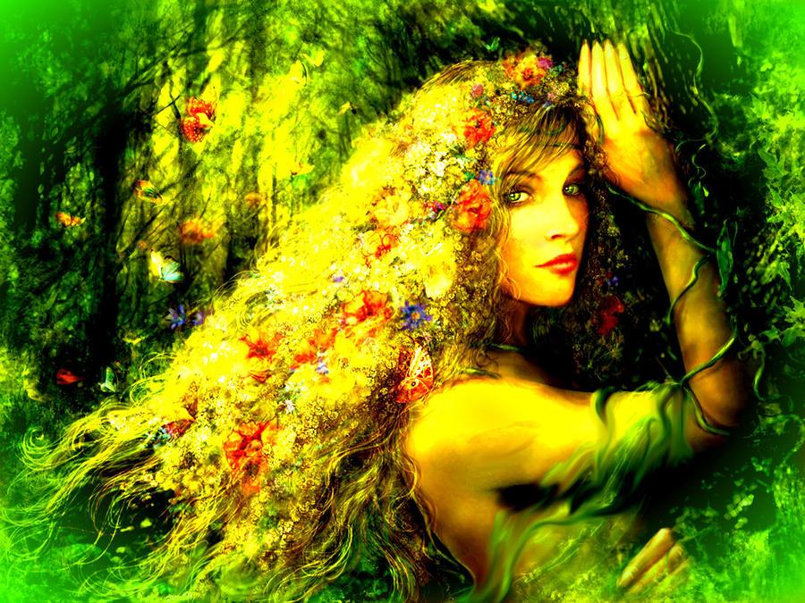 Mother Nature Fantasy Art