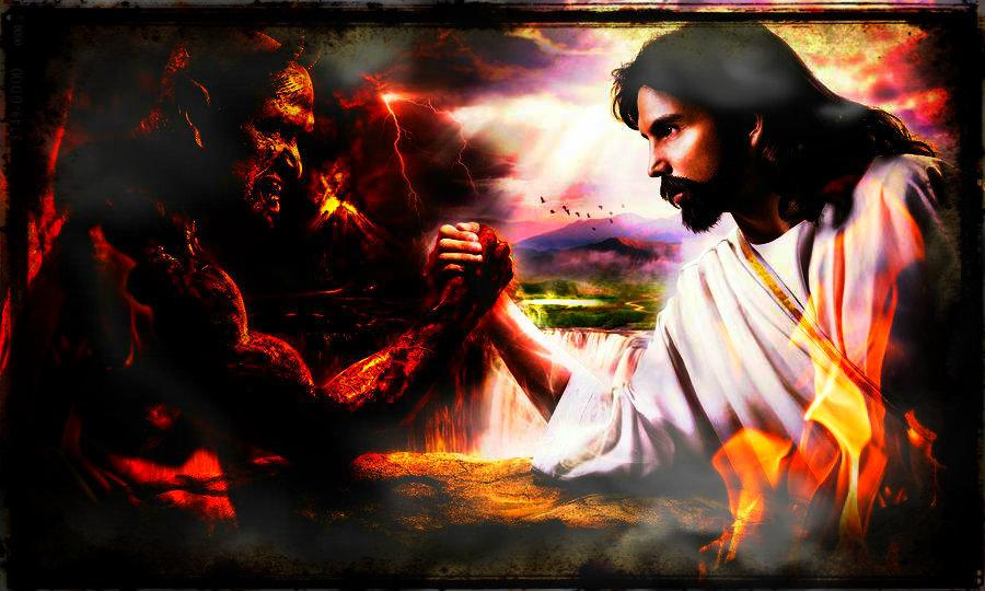 god vs devil wallpaper - photo #27