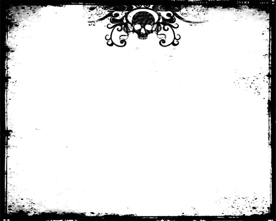 Skull border by lulztroll87 on deviantart for Headshot border template