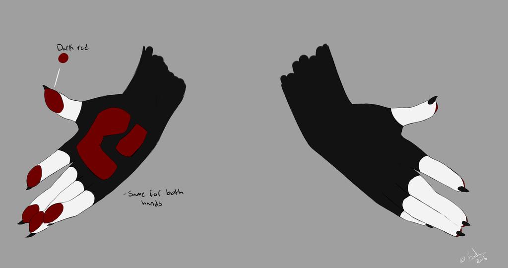 Kaala Hand Diagram by Korclabael