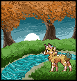 Down by the Stream by CINNA-PUP