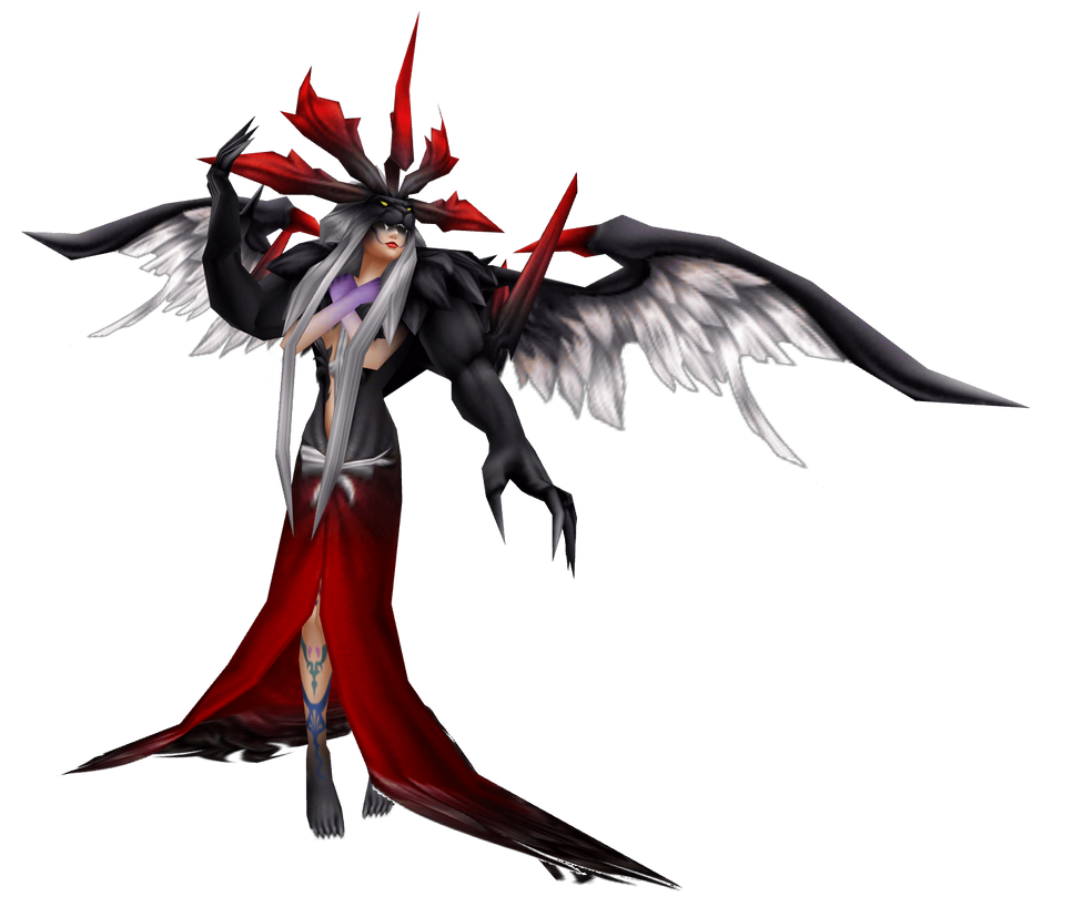 Mmd Ddff Ultimecia Ex Mode Default By Renzo Senpai On