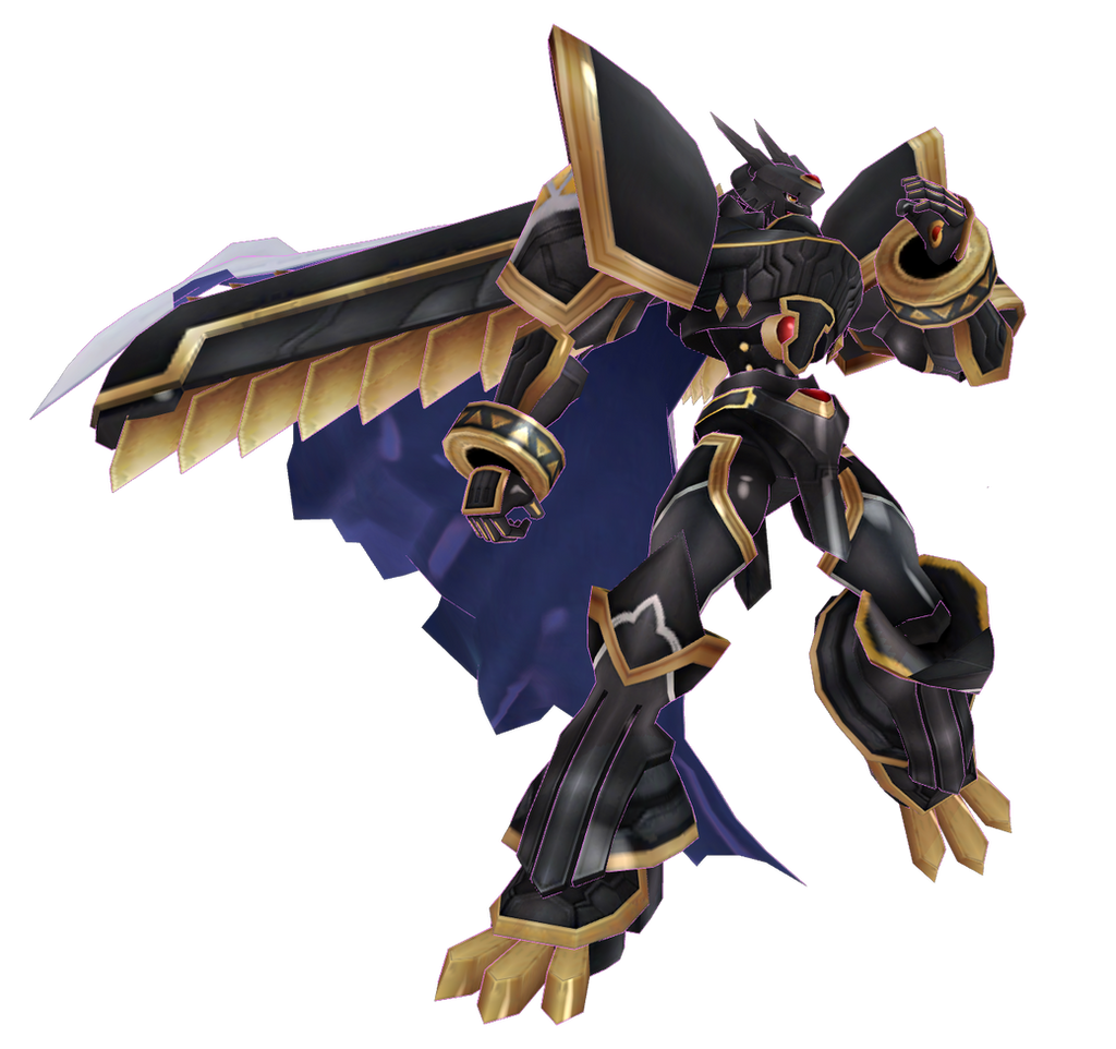 Digimon LinkZ - Alphamon by renzo-senpai on DeviantArt