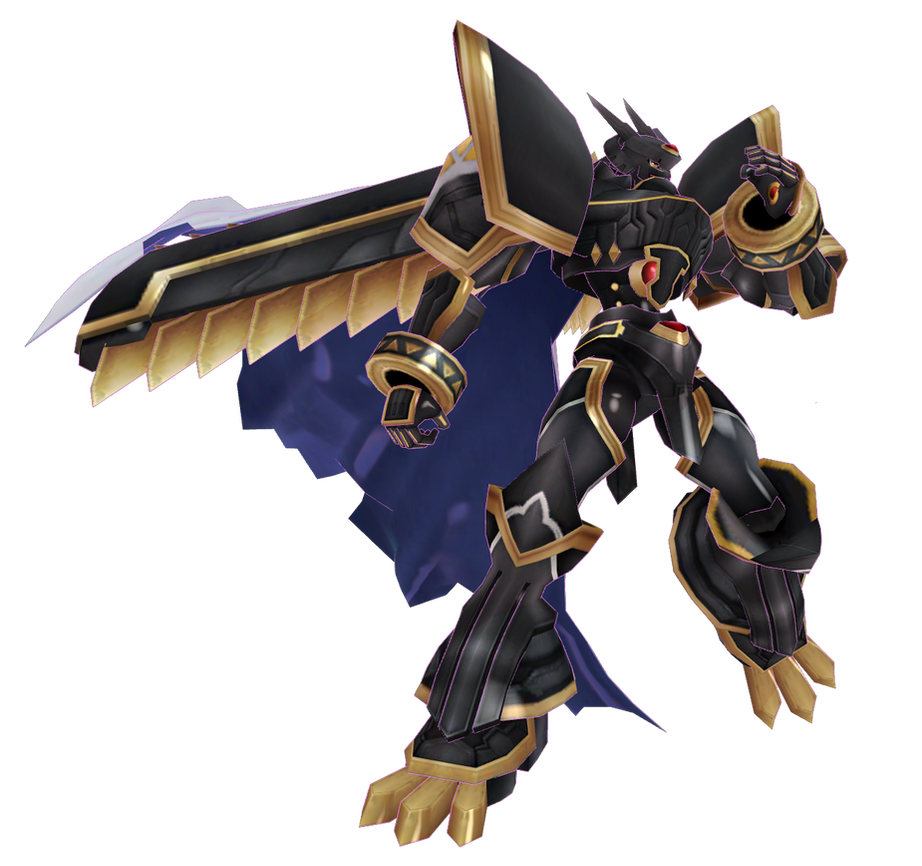 Digimon LinkZ - Alphamon by renzo-senpai on DeviantArt