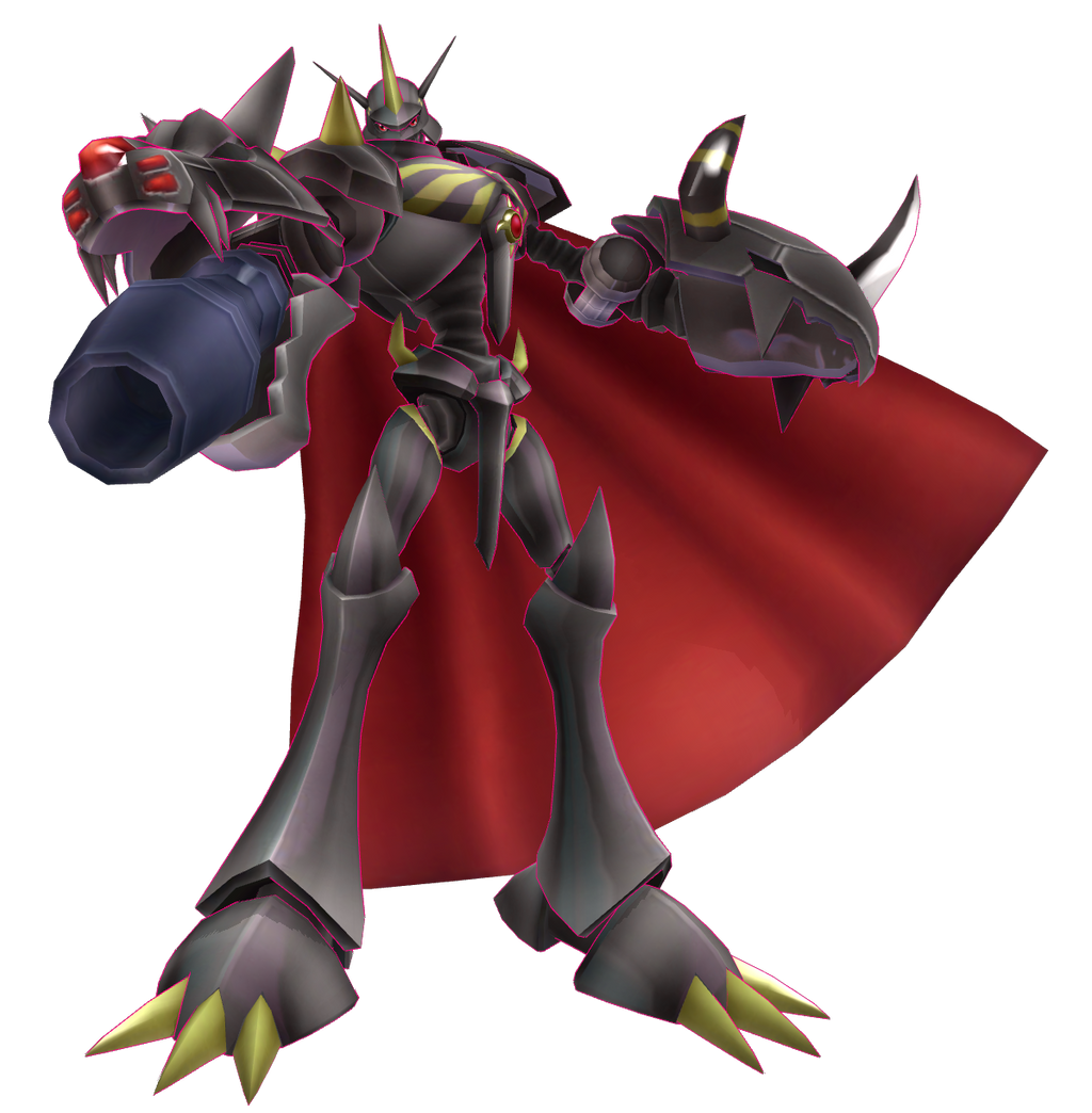 Digimon LinkZ - Omnimon Zwart by renzo-senpai on DeviantArt