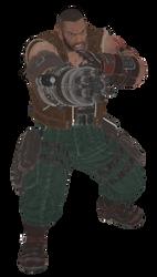 [MMD] FFVIIR - Barret Wallace