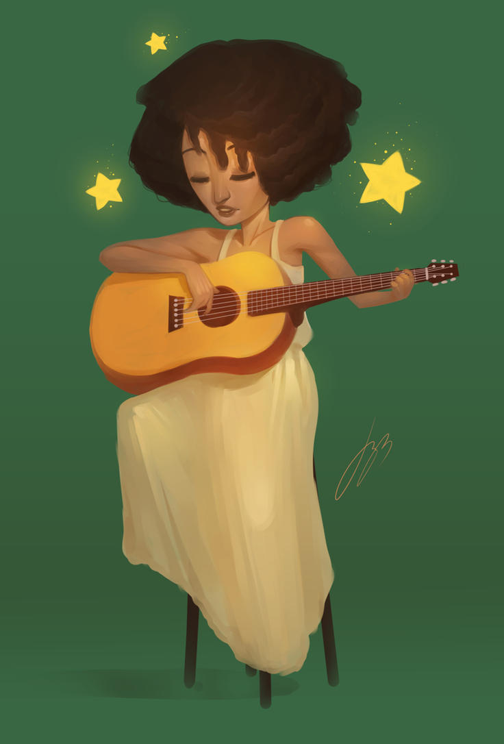 Corinne Bailey Rae by JustineArt