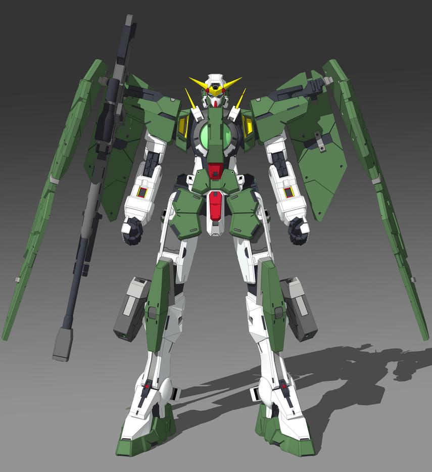 GN-002 Gundam Dynames Collor by ISPMatsumotoTakanori