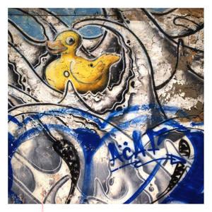 duckie in rough waters by EintoeRn
