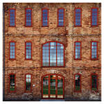 brickstones and reflections
