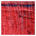 blue tears on red canvas by EintoeRn