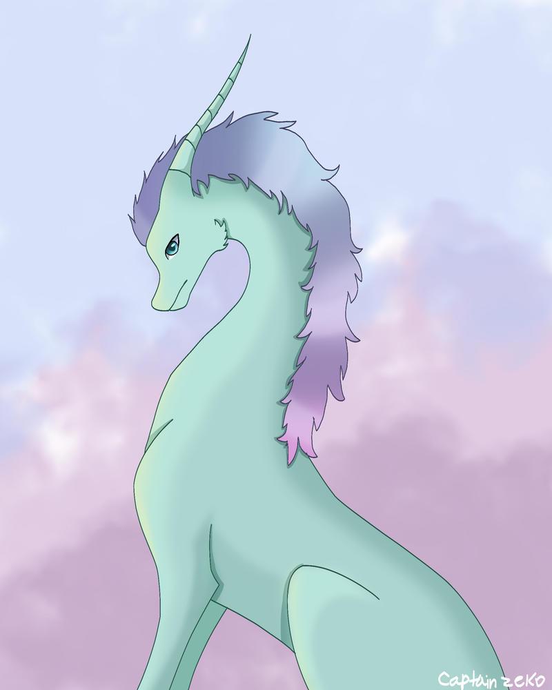 Pastel Dragon by Captain-Zeko