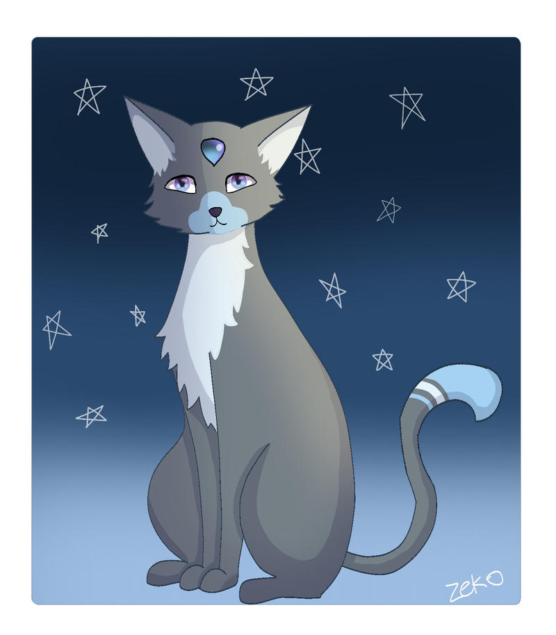 Night Cat (need name) by Captain-Zeko