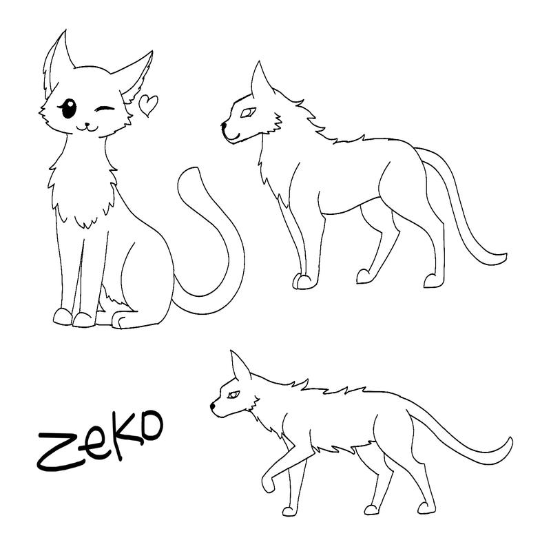 Cats Doodle by Captain-Zeko
