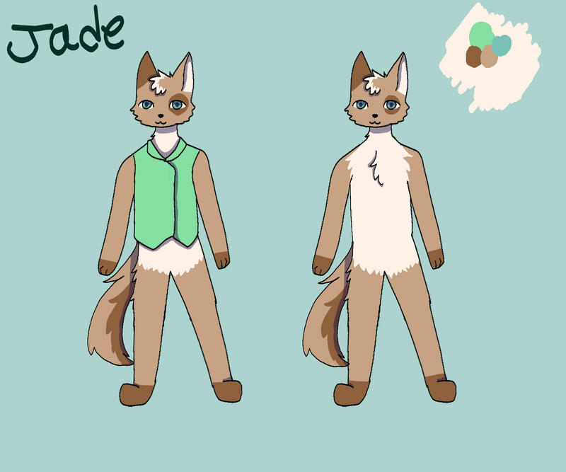 Jade Ref by Captain-Zeko