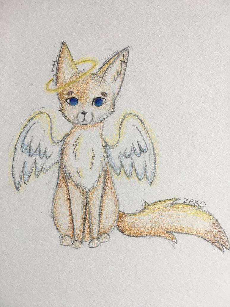 Angel Fox by Captain-Zeko