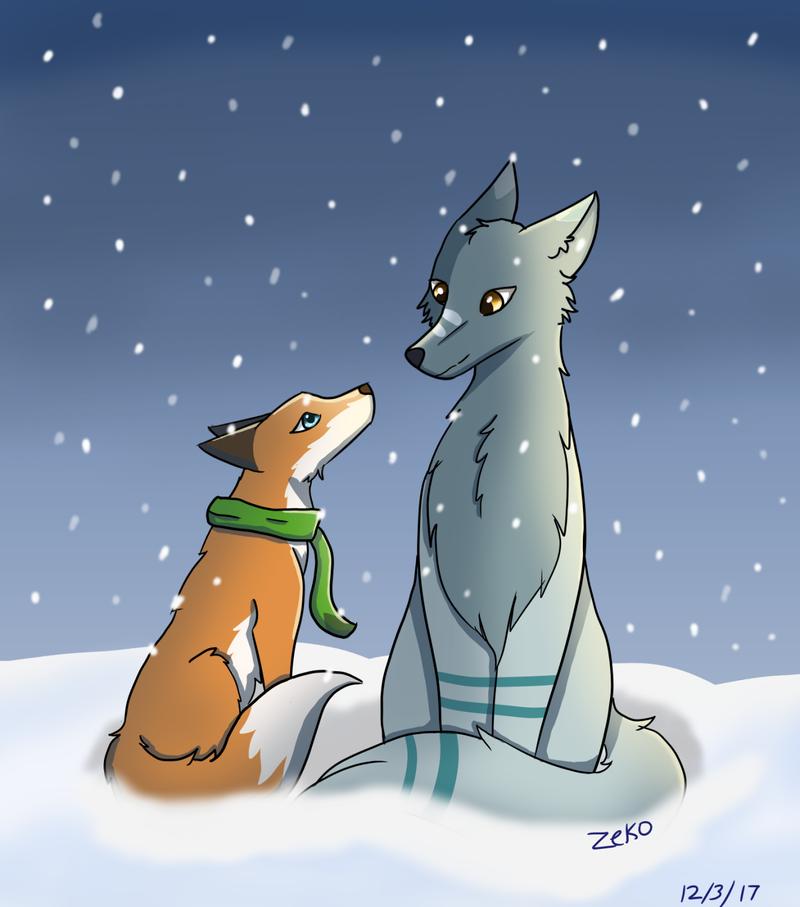 Winter wonder by Captain-Zeko