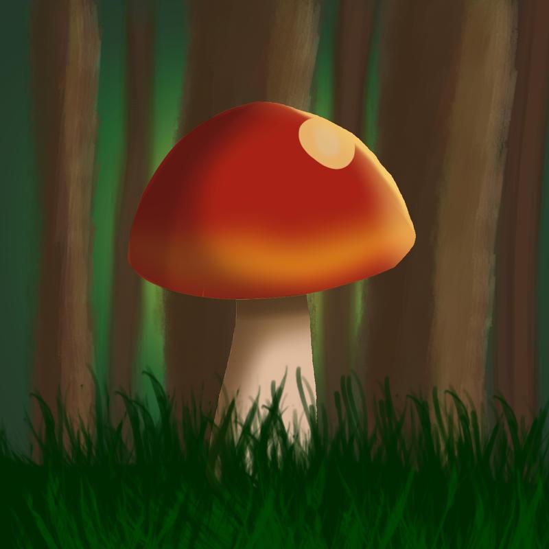 Mushroom by Captain-Zeko