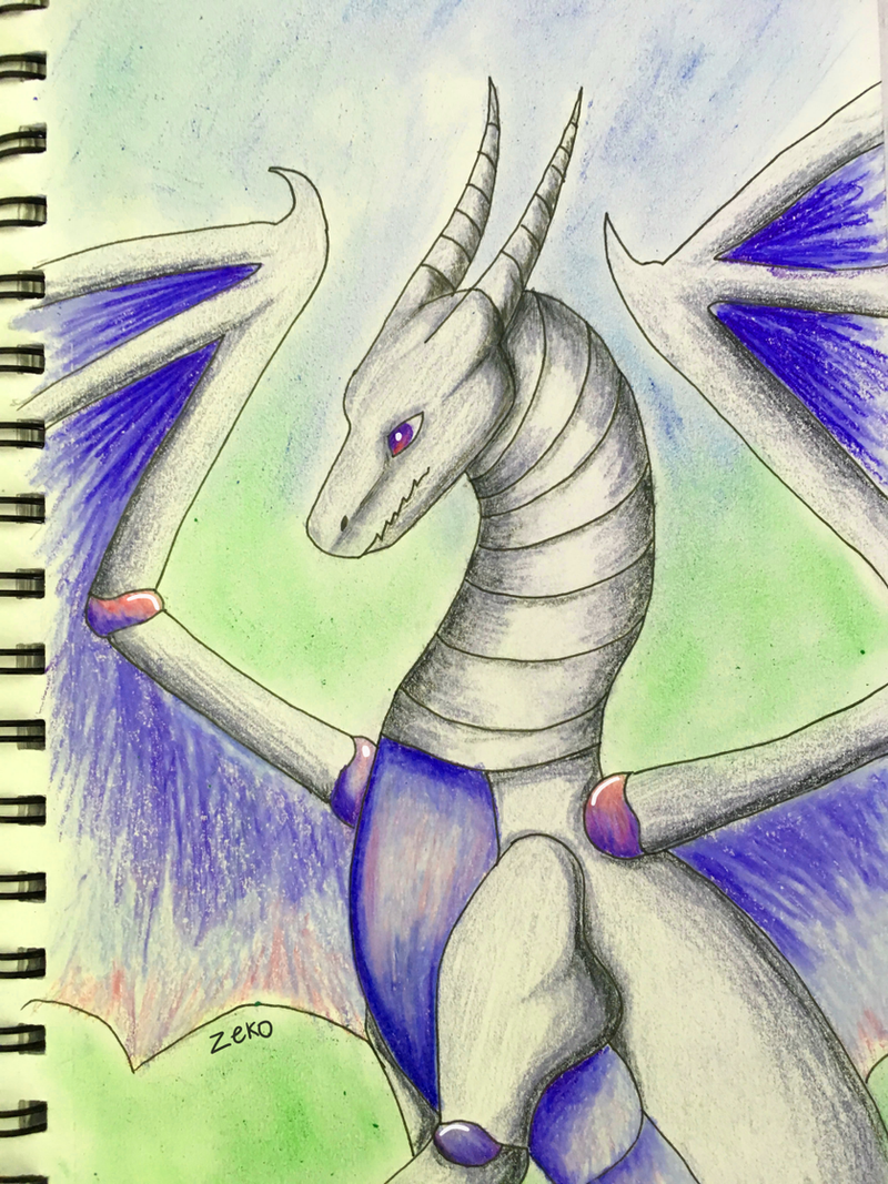 robot dragon by Captain-Zeko