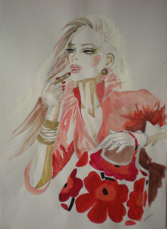 Marimekko RED by Olesja22
