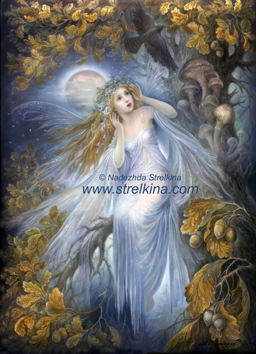 Night Fairy by Fantasy-fairy-angel