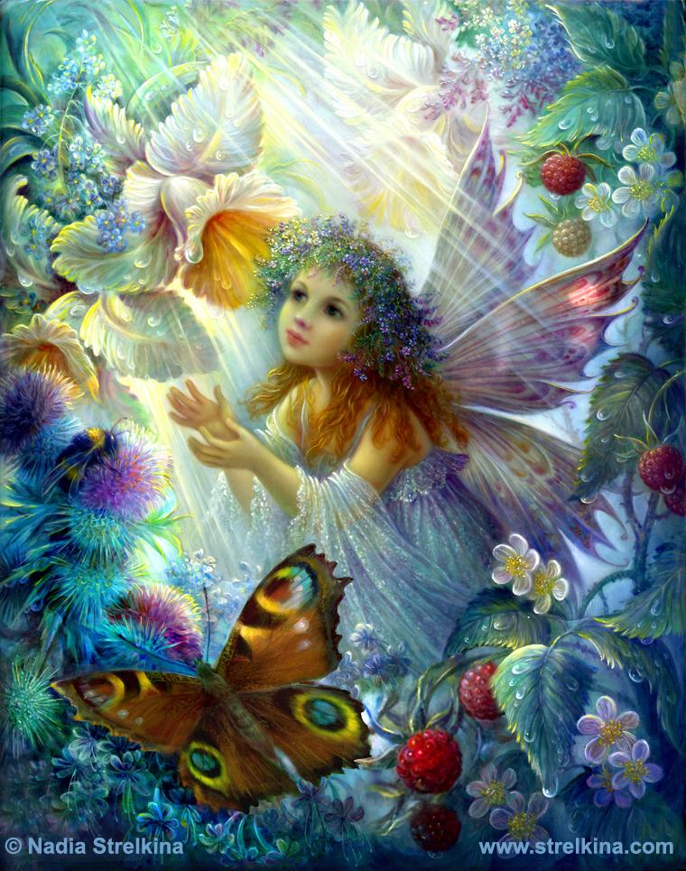 Flower fairy by Fantasy-fairy-angel