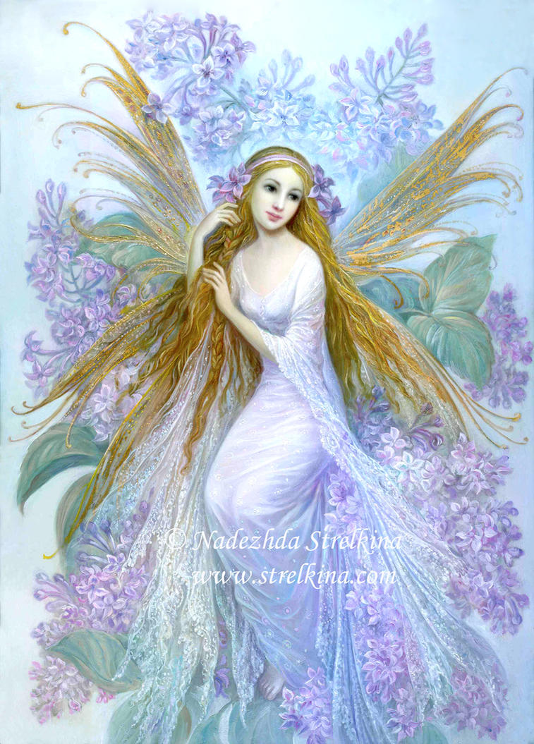 Lilac Fairy By Fantasy Fairy Angel On Deviantart