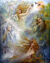 Seasons by Fantasy-fairy-angel