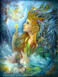 Magic fire by Fantasy-fairy-angel