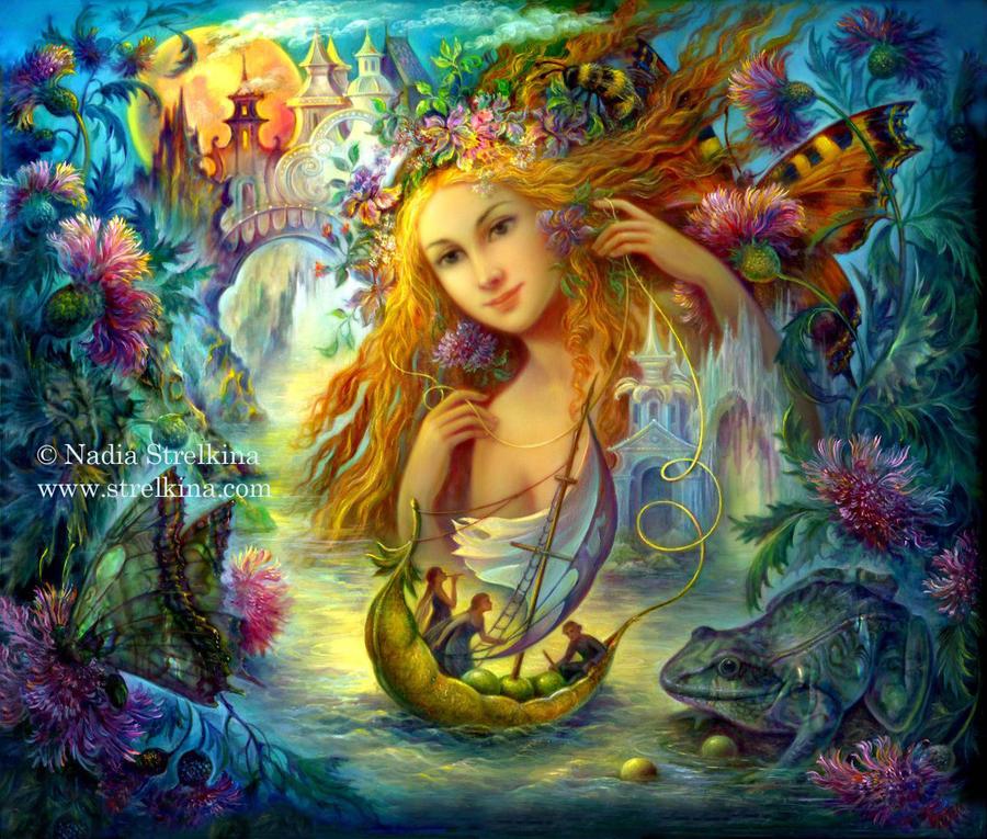 Fantasy fairy art reply