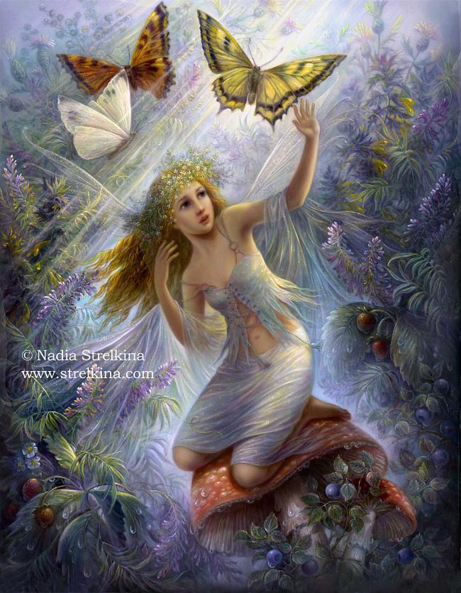 Fairy World By Fantasy Fairy Angel On Deviantart