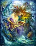 Fairy  book by Fantasy-fairy-angel