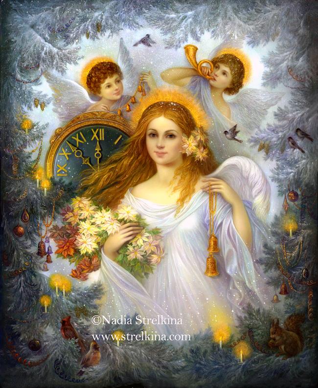 Christmas Angel by Fantasy-fairy-angel