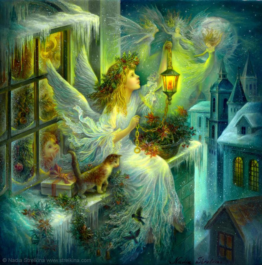 Christmas wonder by Fantasy-fairy-angel
