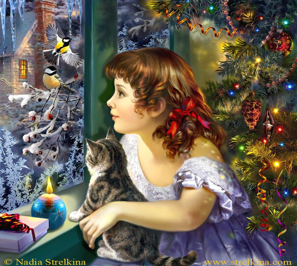 Magic of Christmas by Fantasy-fairy-angel