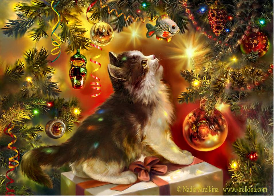 Kitten's dream by Fantasy-fairy-angel