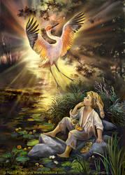 Crane Dance by Fantasy-fairy-angel