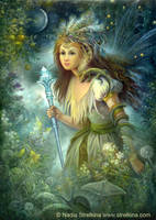 The Magic Staff by Fantasy-fairy-angel